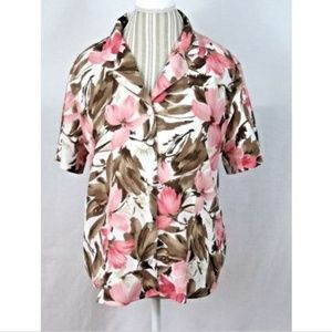 Alfred Dunner Short Sleeve Blouse